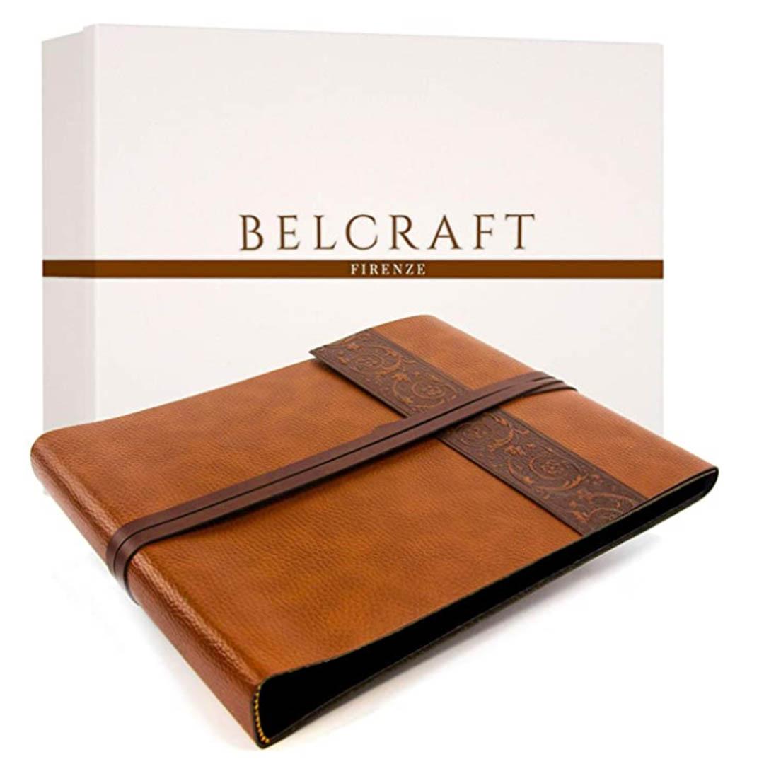 Belcraft-Liveri-Album-de-Fotos-A4-25x32cm-Marron-Claro-caja