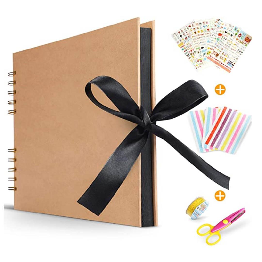 Koooper-Libro-Aventuras-up-album-de-Fotos-DIY-Album-up-Tijeras-Pegatinas