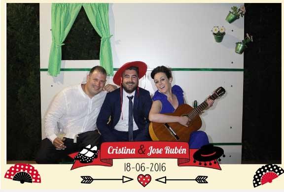 Fotomaton Amigos Flamenco